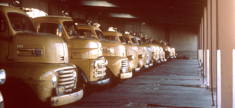 old SMUD trucks