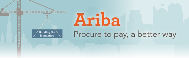 Ariba procure to pay banner