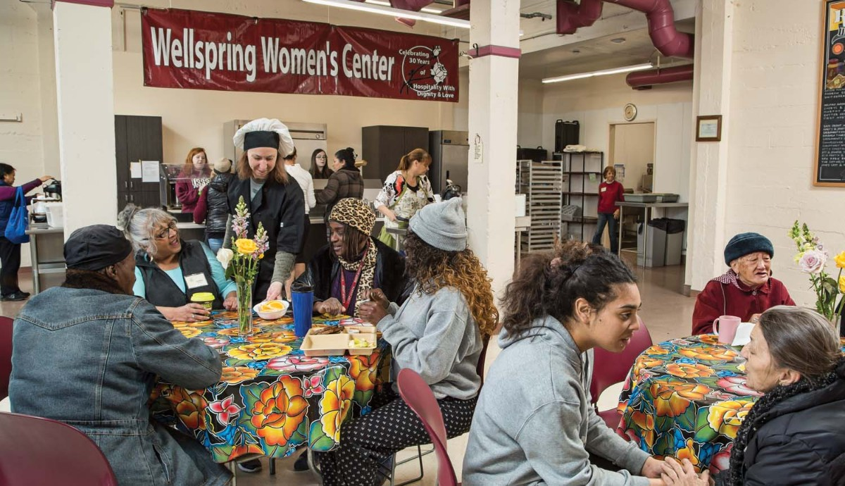 Image of event at wellspring women's center