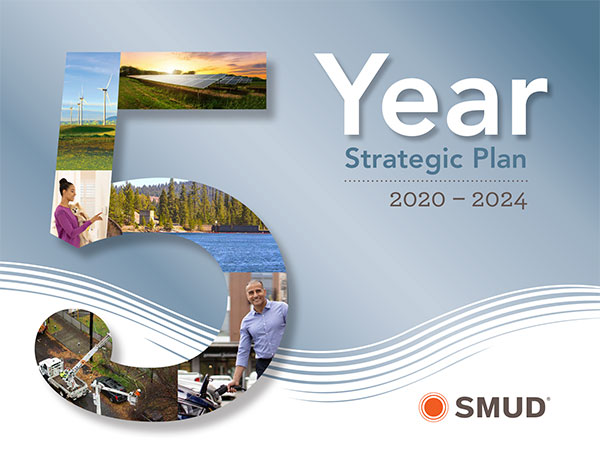 Cover image of SMUD 5 Year Strategic Plan