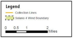 Solano 4 Wind Project Map Legend