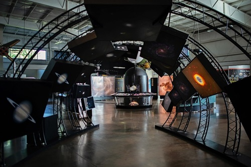 Image of Aerospace Museum display