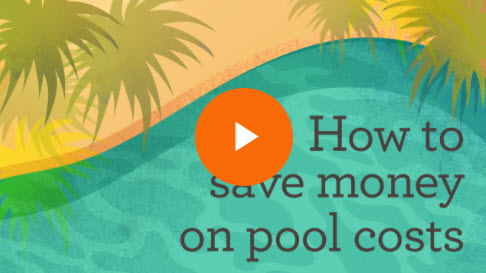 How to save money on pool costs video