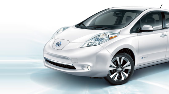 Win a lease on a Nissan LEAF
