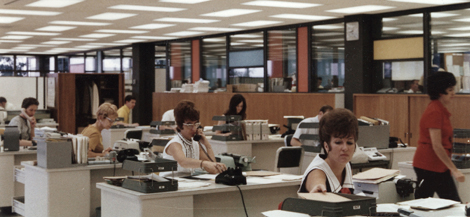 1960s SMUD office staff