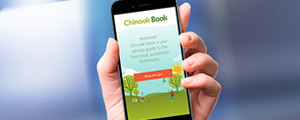 Chinook Book mobile app