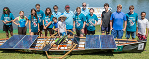Solar Regatta students