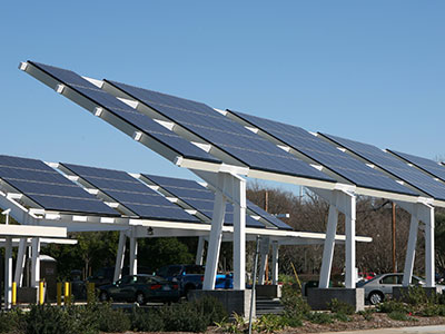 rooftop solar parking