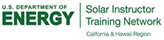 U.S. Department of Energy Solar Instructor Training Network