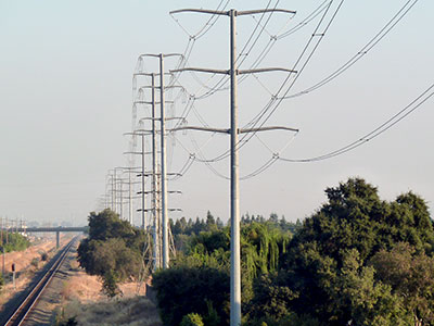 twin powerlines